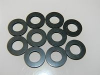 10 x Rubber Flat Washers Fit Bolt Size M10 Cushioning Washer  [END1D]